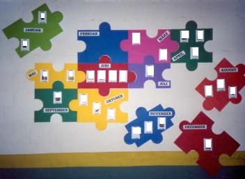 bastelideen f r geburtstagskalender kindergarten workshop. Black Bedroom Furniture Sets. Home Design Ideas